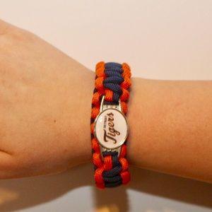 Jewelry - Detroit Tigers Paracord Survival Bracelet